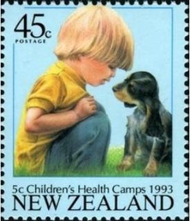 子供とペットの切手.イヌ.jpg